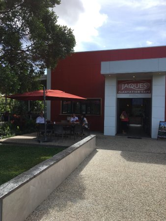 Mareeba, Australia: Relaxing with friends and a yummy coffee