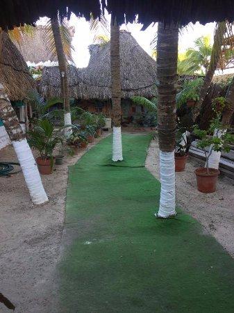 Casa Maya Holbox: patio