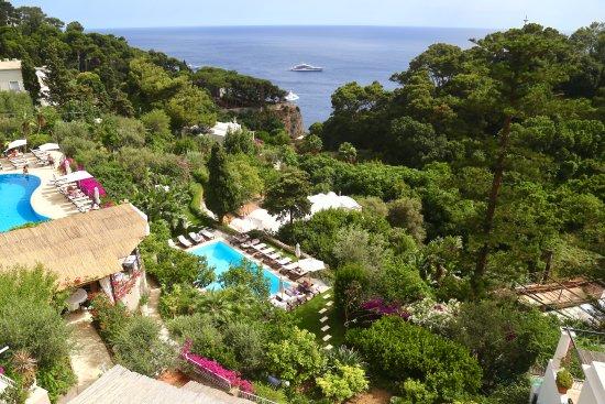 Hotel La Vega: Balcony view to the sea!