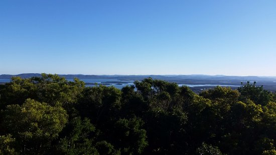 Cape Hawke Lookout: The view of Forster