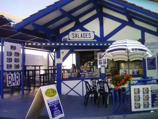 Уррюнь, Франция: restaurant très sympa col d'ibardin urrugne