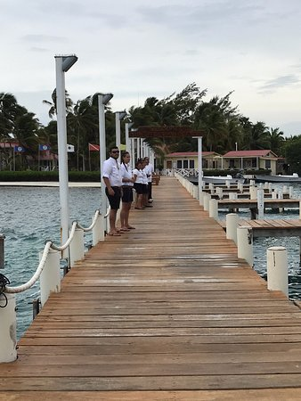 Turneffe Island, Belize: Welcoming Staff!