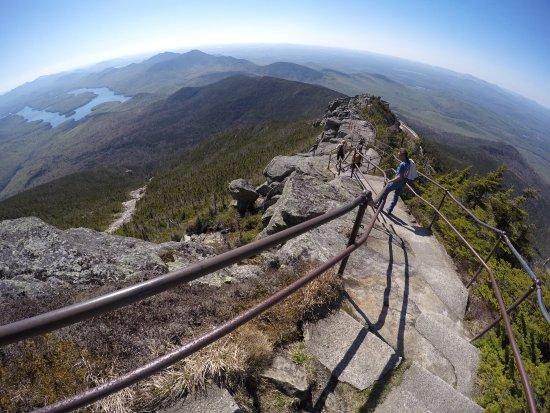 Wilmington, État de New York : Whiteface Mountain, Northern New Yok, overlooking Lake Placid