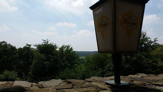 Wurselen, Germany: Het uitzicht op het terras