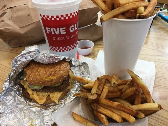 Five Guys Vancouver 635 Robson St Downtown Updated