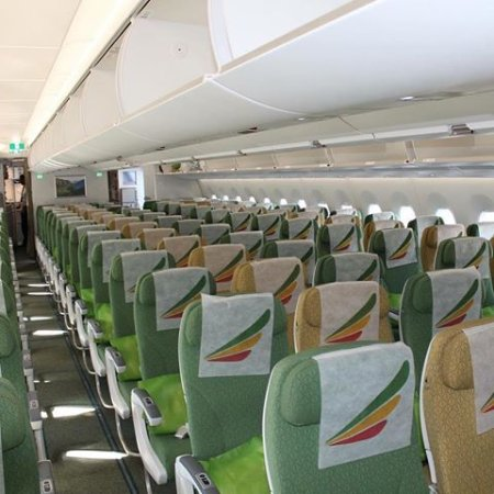 The inside of an Ethiopian Airlines Boeing 787 - Picture of