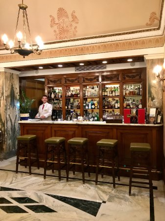 Grand Hotel Excelsior Vittoria : Bar