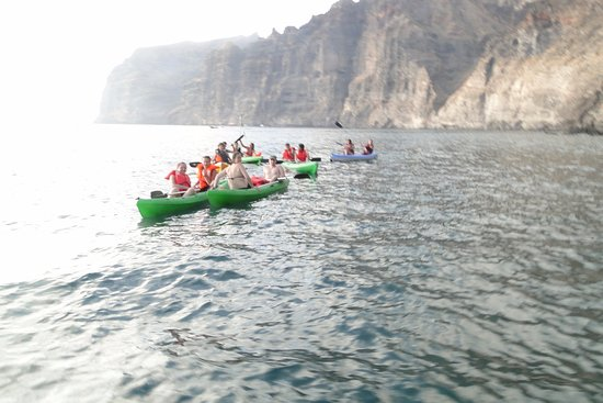 Santiago del Teide, Ισπανία: Excursiones en kayaks