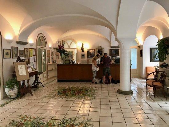 Santa Caterina Hotel: Reception