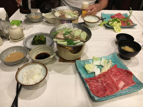 Nozawaonsen-mura, Japonia: Amazing delicious dinner
