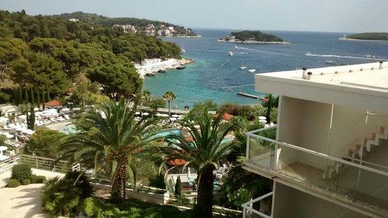 Amfora Hvar Grand Beach Resort: Vista desde la habitación