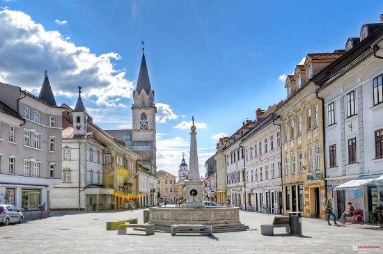 Kranj, Slovenia: Main Square