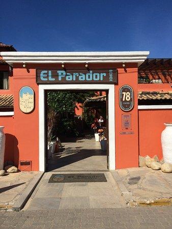 El Parador Pousada: Ingang