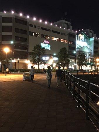 Kishamichi Promenade: 夜の汽車道は綺麗です!