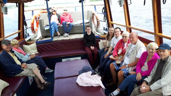Athlone, Ireland: Interior deck of Mike's Viking ship