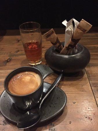 Santoku: Lovely espresso in a cute cup