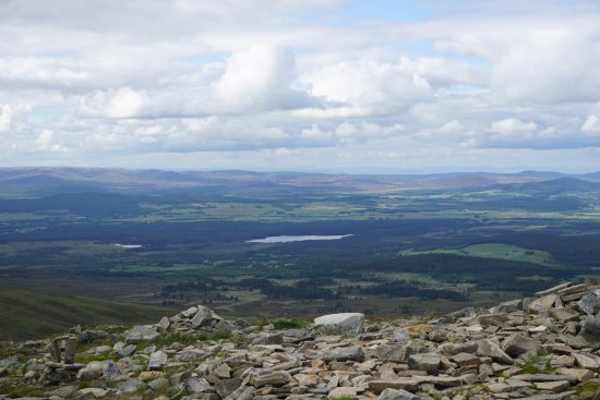 Aviemore, UK: At the top of Meall a'Bhuachaille in the Cairngorms.