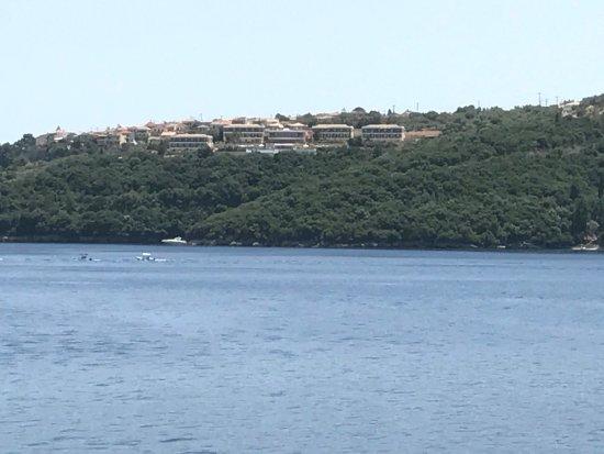 Spartochori, Greece: Skønt hotel med fantastisk udsigt