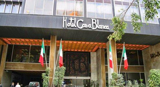 Hotel Casa Blanca Mexico City: L'ingresso.