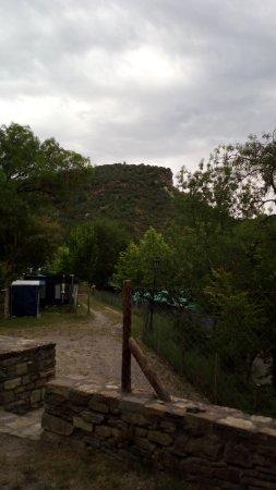 Morillo de Tou, Spain: Sendero desde el camping