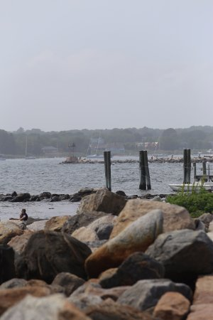 Dubois Beach Stonington Ct.relax and enjoy the view of the sea.