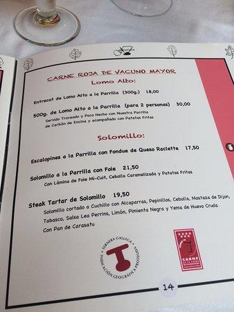 Carta Picture Of Terraza Jardin Felipe Navacerrada