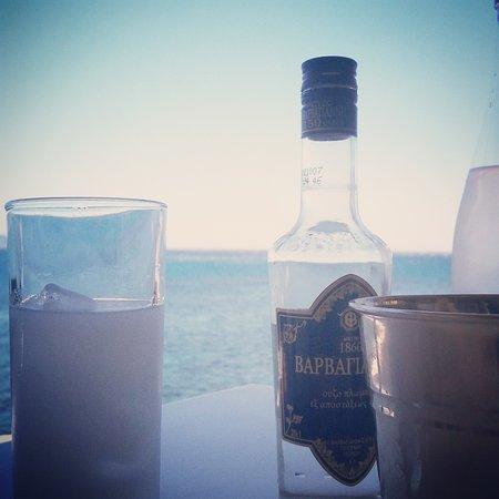 Kerames, Grecia: agia fotia taverna