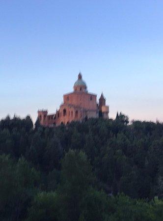 Casalecchio di Reno, Olaszország: San Luca dal Sentiero dei Bregoli