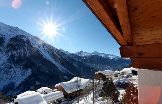 Wiesen, İsviçre: Aussicht Winter
