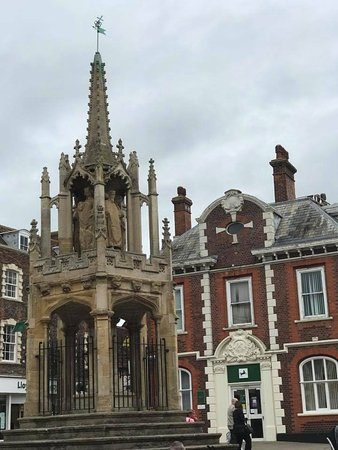 Thame, UK: Leighton Buzzard: Főtér