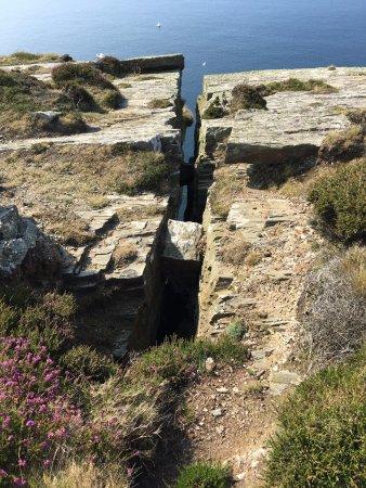 Port Erin, UK: Chasms, Isle of Man