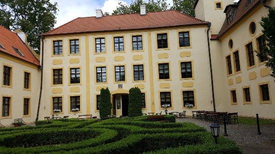 Krokowa, Polen: Pałac/hotel