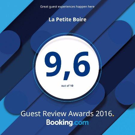 Murs-Erigne, Francia: Awards 2016 - Booking.com