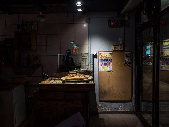 הכניסה לפיצה לינגה