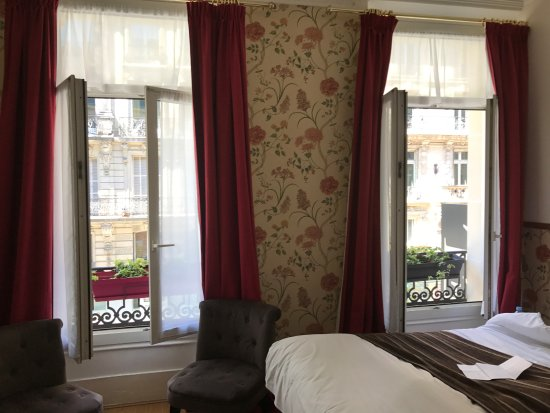 Hôtel Océanic : Room with a view