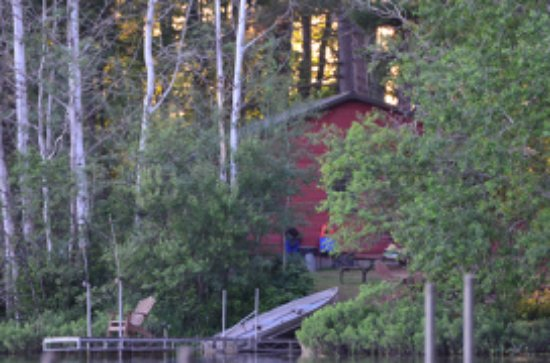 Iron River, WI: Cabin 1 nestled away for privacy