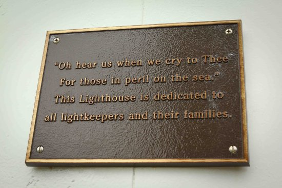 Dingwall, Canadá: Sign displayed on the lighthouse