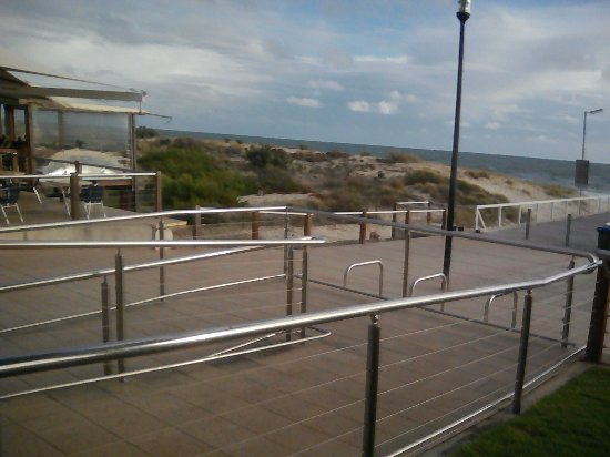 Grange Jetty Cafe: View of the Gulf