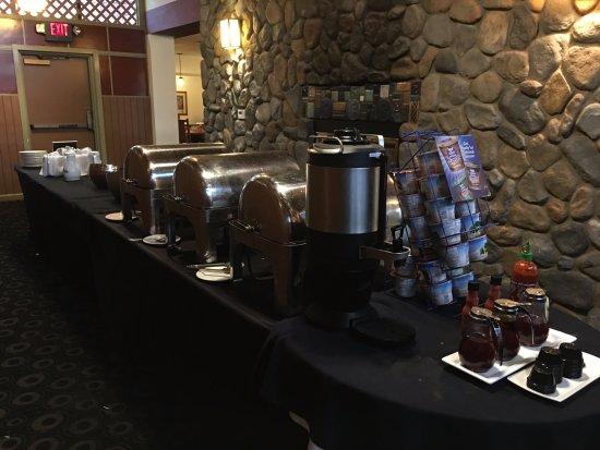 Breakfast Buffet Picture Of Wyndham Garden Sterling Heights Sterling Heights Tripadvisor