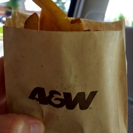 Sault St. Marie, Canada: French fries that taste like real potatoes!