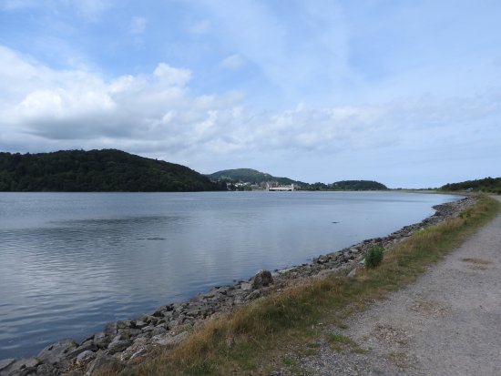 Llandudno Junction, UK: Looking back towards Conwy