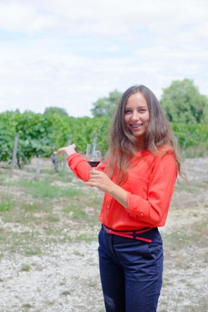 Saint-Sauveur, Francia: Meet Lucie. She will show you around and tell the history of this beautiful place.