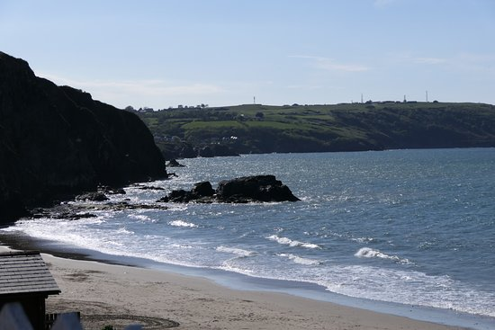 The Ship Inn: Beach at Tresaith