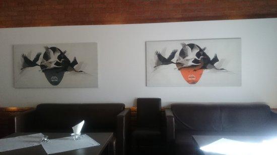Morag, Polonia: Wnętrze restauracji