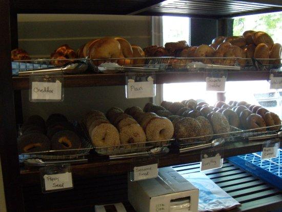Port Colborne, Canada : Fresh bagels
