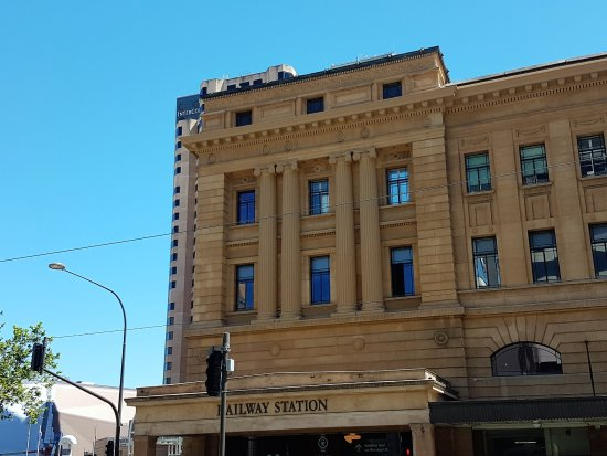 Side entrance to the station from r hand side of north for 21 south terrace adelaide