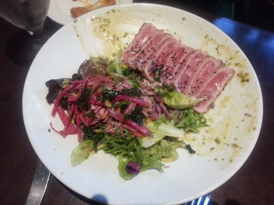 Needham, MA: ahi tuna salad