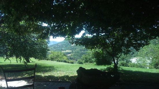 Saint-Pons, Francja: Vue de la terrasse !