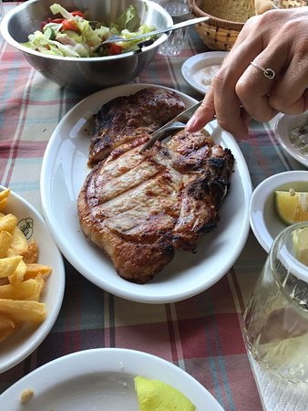 Trimiklini, Кипр: Pork chop