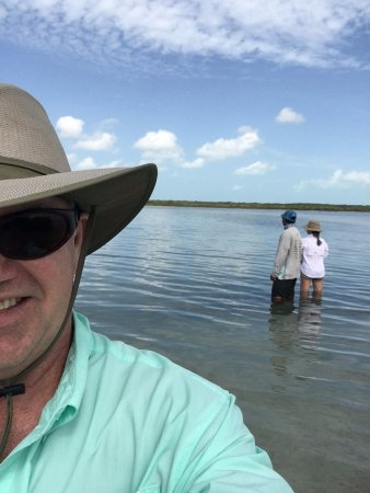 El Pescador Resort: Great Fishing, Great Guide Caesar who help us a lot loved this place